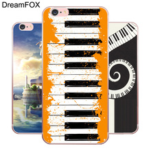 DREAMFOX M546 Piano Soft TPU Silicone Case Cover For Apple iPhone XR XS Max 8 X 7 6 6S Plus 5 5S SE 5C 4 4S shining rhinestone piano pattern plastic back case for iphone 4 4s silver