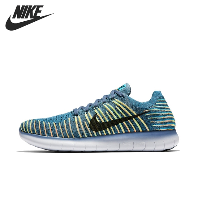 Original Nike Free RN flyknit flyknit flyknit hombres chaussures para correr 7573e4