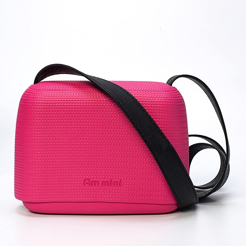 New Colourful Candy O pocket Obag style AM Mini bag fashion women bags fashion trend street messenger bag Obag Free shipping