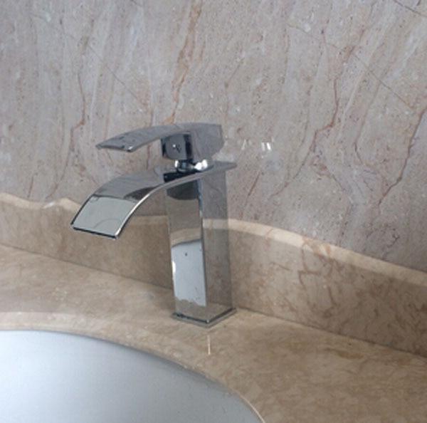 Wholesale And Retail Waterfall Bathroom Faucet Vanity Vessel Sinks - Retail bathroom fixtures