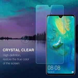 Image 2 - Nicotd 2.5D 9 H Premium Gehärtetem Glas Für Huawei Mate 20 6,53 zoll Screen Protector Gehärtetem schutz film Für Huawei mate 20