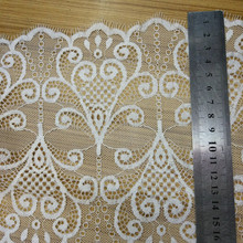 10 PCS Hight Quality 18cm Width 3yards/PCS DIY French Voile Eyelash Lace Sewing Applique Trims Wedding Party Decor Craft