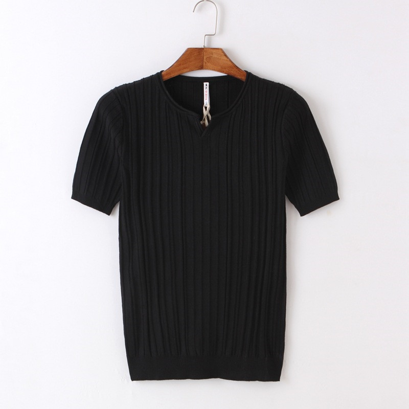 Fat short sleeved t shirt men's trend summer cotton large size men's loose half sleeved clothes