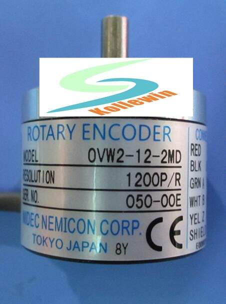 OVW2-12-2MD Within the control stable economic performance pulse encoder 1200P/R, new in box, Free Shipping. ovw2 12 2mhc 1200p r 38 mm solid shaft rotary encoder diameter 6 mm diameter of axle new in box free shipping