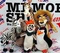 5 см ~ 35 см мадагаскар плюшевые игрушки жираф бегемота лев пингвин лемур, Плюшевые игрушки, Детские игрушки, Куклы, Бесплатная доставка