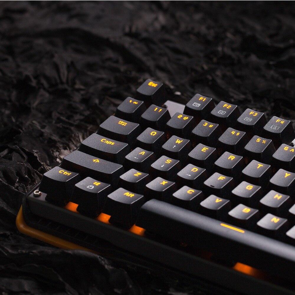 """87Keys Mechaninė žaidimų klaviatūra su """"Gateron Switch"""" - Kompiuterių periferiniai įrenginiai - Nuotrauka 6"""