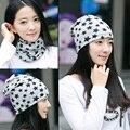 5 colores de La marca de Moda 2016 modelo de Estrella sombreros de invierno para la señora Girls Keep Warm Punto Hat Skullies y Gorritas Tejidas de las mujeres sombrero