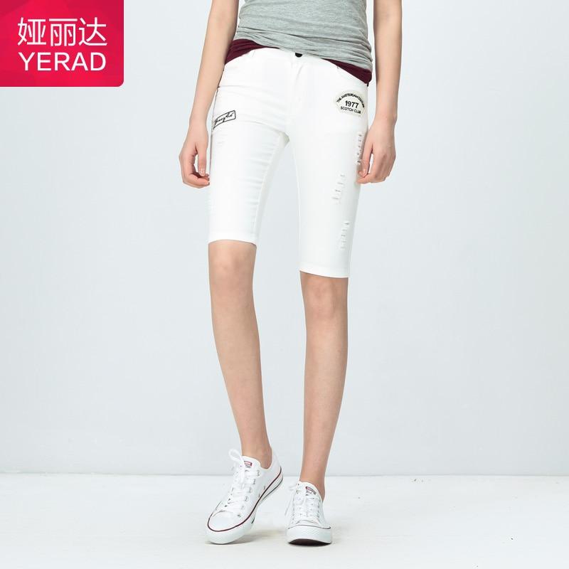 Popular Knee Length Denim Shorts for Woman-Buy Cheap Knee Length ...