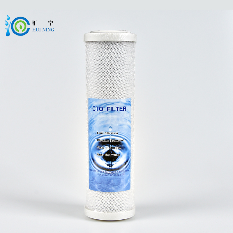 activated carbon filter 10 inches CTO carbon water filter Cartridge for water purifier system activated carbon water filter