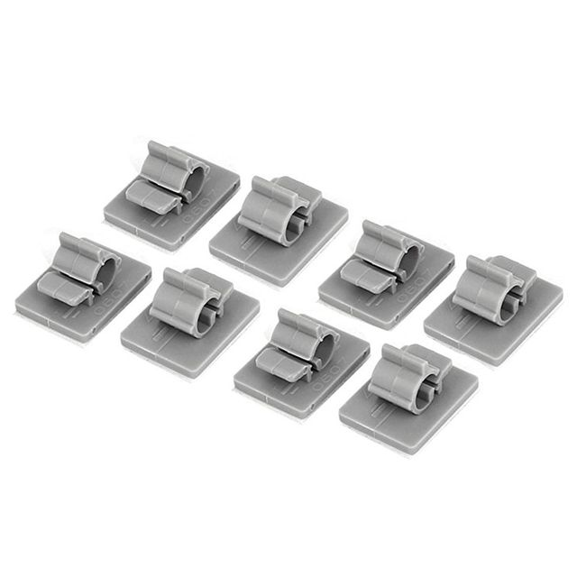 Hot Sale Plastic Cable Wire Bracket Adhesive Clips Clamps 6mm 7mm 21 ...
