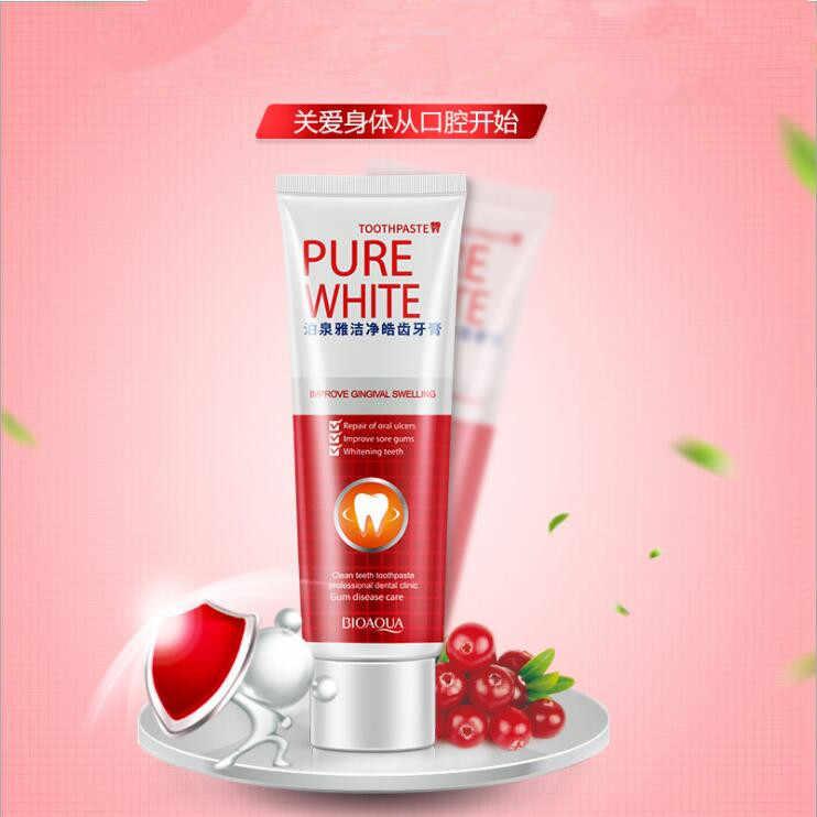 120G cranberry mięta pasta do zębów wybielanie zębów zdrowie uroda narzędzie Dental Oral Care Hot sprzedaży łatwe bezpieczne zęby piękno