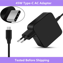 For Asus ZenBook 3 UX390/For HP Spectre x360/For Lenovo ThinkPad X1/For Macbook 45W USB Type C AC Adapter Charger Power Supply