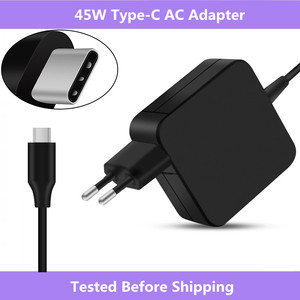 Image 1 - For Asus ZenBook 3 UX390/For HP Spectre x360/For Lenovo ThinkPad X1/For Macbook 45W USB Type C AC Adapter Charger Power Supply