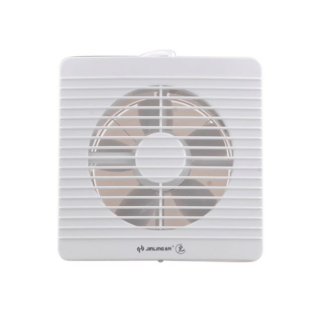 Exhaust Fan Kitchen Ventilator TOILET Lampblack Thin 8 Inch Wall Casement  Window Ventilating Fan
