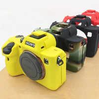 Sac vidéo souple pour appareil photo coque en silicone étui en caoutchouc pour appareil photo housse de protection pour Sony A9 A7R III A7R3 A7 mark 3 A7 III