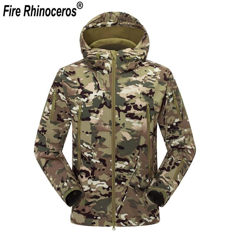 Tout nouveau hommes TAD Gear Soft Shell extérieur polaire imperméable vestes tactique Camouflage armée militaire chasse coupe-vent