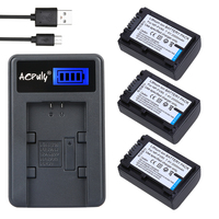 AOPULY NP FV50 NP FV50 Battery USB Charger For SONY HDR XR550E XR350E CX550E CX350E CX150E