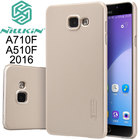 Nillkin Frosted Hard Protector back cover case for Samsung Galaxy A7 A5 A3 2016 A510F A310F A710F Screen film