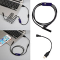 7mm Lens 1M Android OTG Phone Endoscope IP67 Borescope LED Video Camera