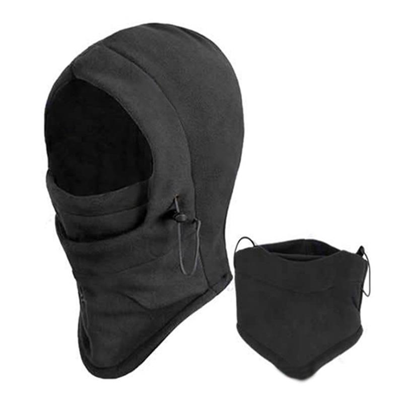 Rosto Térmica Máscara Velo Balaclava capa Swat Ski Bicicleta Vento Inverno Stopper Para & Gorros Out Door Sports Acessórios de Vestuário