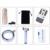 Clips Universal Lentes Lentes de Telefoto 12x Zoom Telescópio Lente Da Câmera Do Telefone para iphone 7 6 5 s xiaomi huawei com tripé móvel