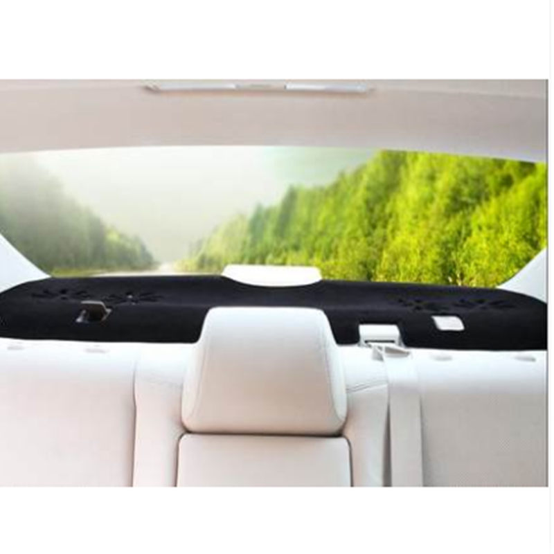 Hot Selling Taijs Car rear window cover mat for Ford 2013 Mondeo no air outlet noble style for Ford Dust-dirty mat two colors