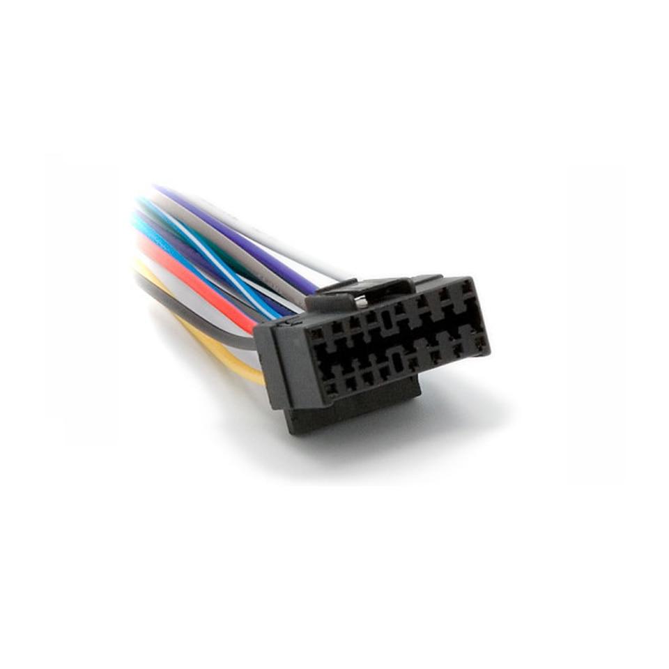 medium resolution of car iso wiring harness for sony cd cdx xav jvc kd ks kw power loom radio