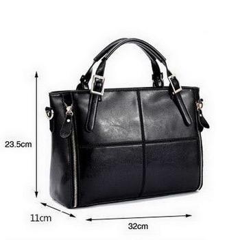 FUNMARDI Luxury Handbags Women Bags Designer Split Leather Bags Women Handbag Brand Top-handle Bags Female Shoulder Bags WLHB974 6
