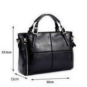Image 5 - FUNMARDI Luxury Handbags Women Bags Designer Split Leather Bags Women Handbag Brand Top handle Bags Female Shoulder Bags WLHB974