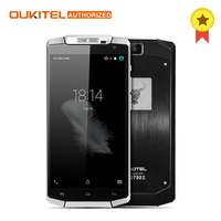 Oukitel K10000 MTK6735 4 그램 LTE 휴대 전화 쿼드 코어 2 그램 RAM 16 그램 ROM 스마트 폰 안드로이드 6.0 롤리팝 5.5 인치 720 마력 13MP 핸드