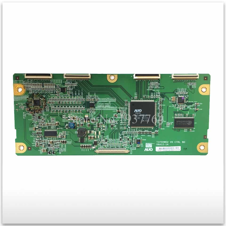 98% new good working High-quality board T370XW02 V0 CTRL BD 06A12-1A T-con logic board 98% new good working high quality original for board t460hw03 vf ctrl bd 46t03 c09 t con logic board