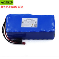 VariCore 36V 500watt 8Ah 10S4P 18650 Rechargeable battery pack  modified Bicycles electric vehicle 36V Protection with BMS