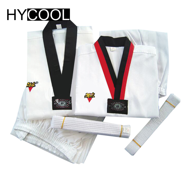 HYCOOL 2017 Child Adult Autumn Winter Taekwondo Dobok Karate Uniforms Sanda Clothes Sets Comfortable Professional Uniform