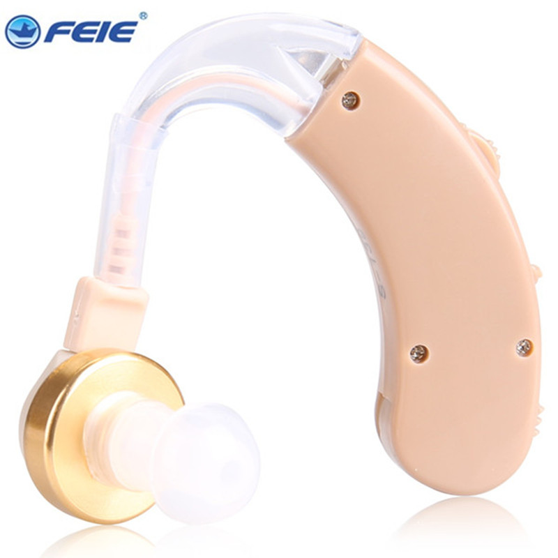 Good Quality Ear Instrument Listening Device Behind Ear Hearing Aid S-139 Sound Voice Amplifier Loudly Earphone Free Ship