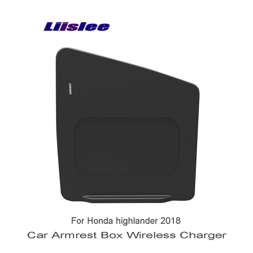 Liislee для Toyota highlander 2018 Wifi Зарядное устройство хранения автомобиля Зарядное Устройство автомобилей разное Box Car Quick Charge быстрый мобильный теле