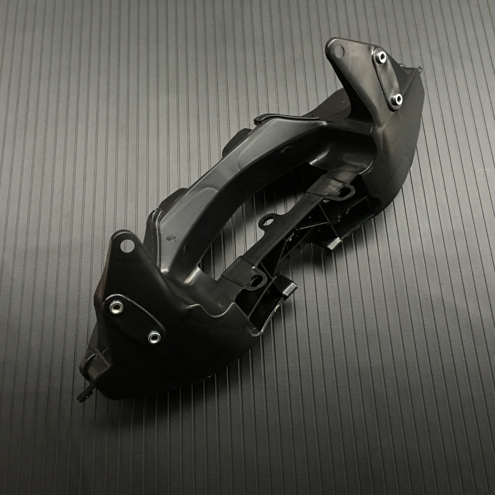 Black Upper Fairing Stay Bracket Cowling Headlight For Honda CBR 600RR CBR600RR 2007-2012 2008 2009 2010 2011