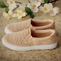 new Spring Women Flats Shoes Platform Sneakers Shoes Woman Leather Shoes Slip On Flats