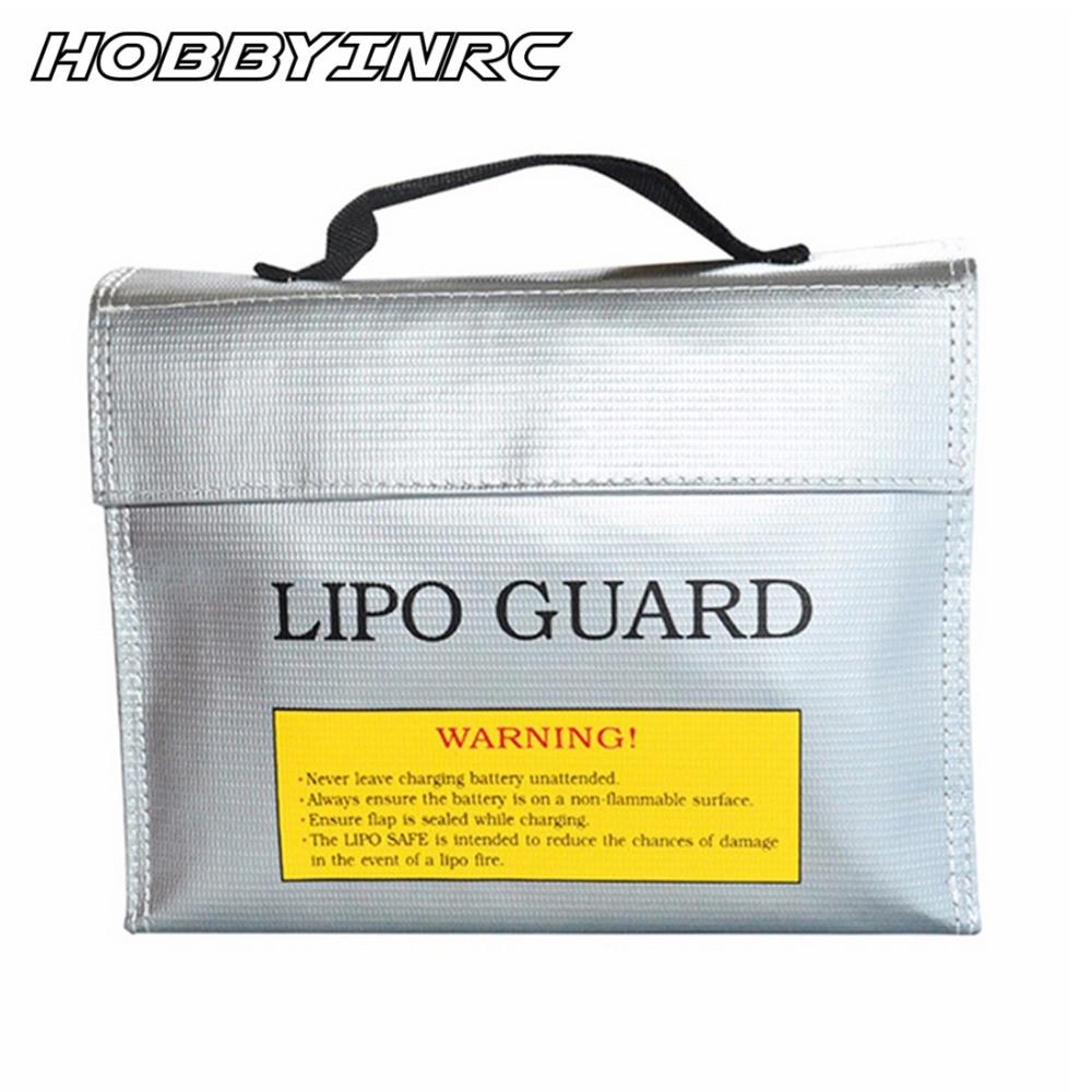 HOBBYINRC 24*18*6.5CM Explosion-proof RC Li-Po Battery Safe Bag LiPo Guard Heat-resistant Professional Battery Storage Bag