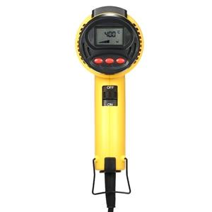 Image 4 - AC220 الرقمية الكهربائية الساخن مسدس هواء التحكم في درجة الحرارة بناء مجفف الشعر بندقية الحرارة لحام أدوات قابل للتعديل فوهة