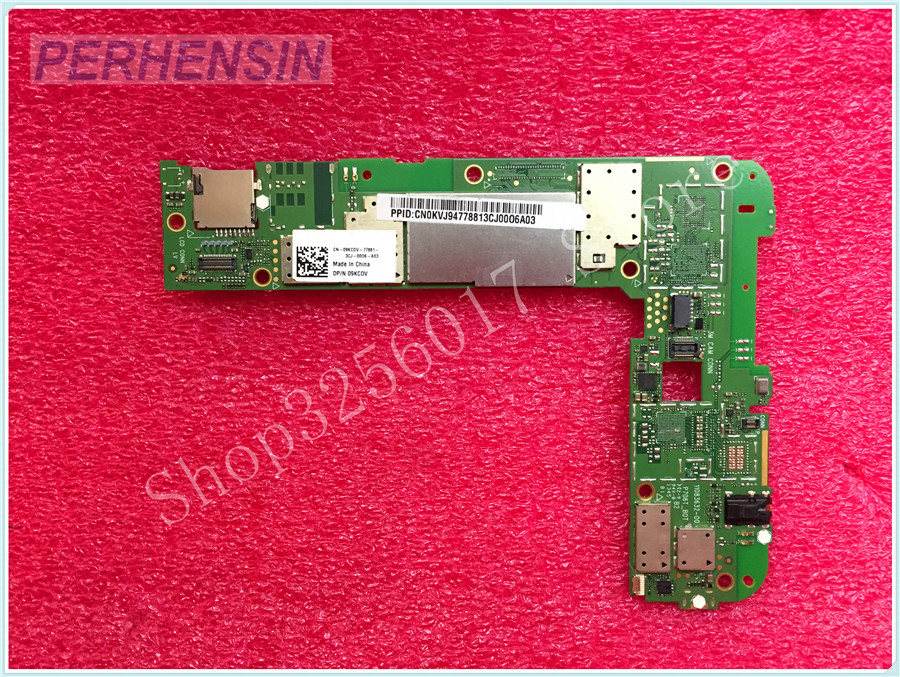 For Dell For Venue 7 Tablet Motherboard CN-09KCDV  09KCDV  9KCDV 100% WORK PERFECTLY планшет dell venue 11 pro ru96