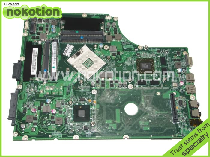 Laptop motherboard for Acer Aspire 7745g MBPUM06001 DA0ZYBMB8E0 intel hm55 ati gpu DDR3 Main Board High Quality warranty 60 days mb rn60p 001 mbrn60p001 main board for acer aspire 7739 7739z laptop motherboard hm55 ddr3 gma hd warranty 60 days