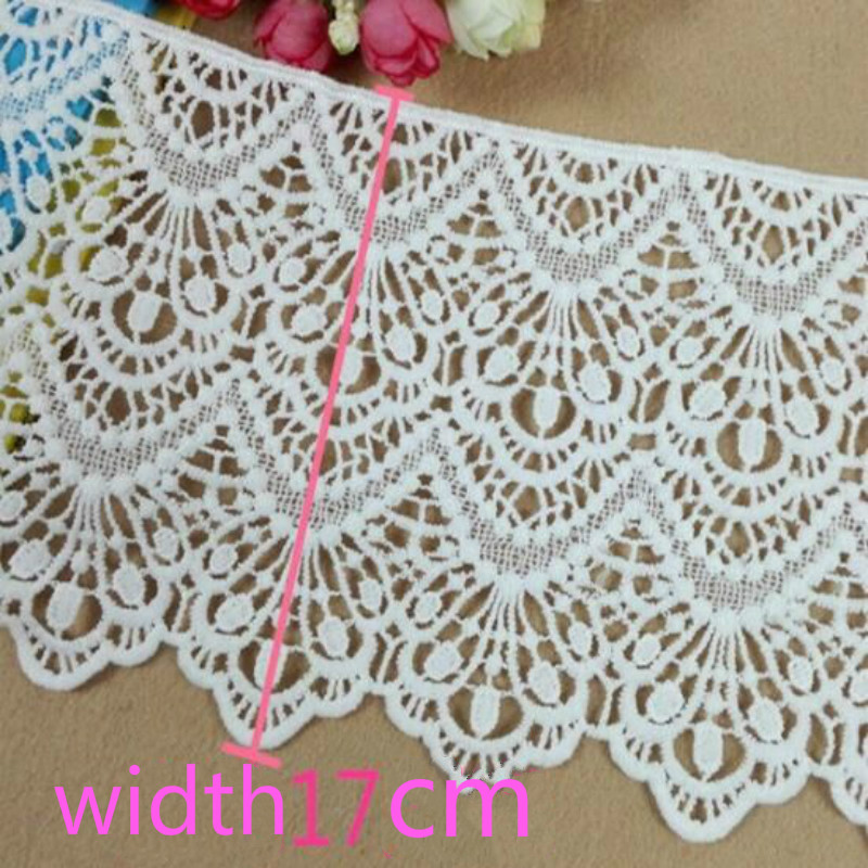 Water Soluble Lace Accessories DIY Clothing Clothes Skirt Hem Accessories Fabric Decoration
