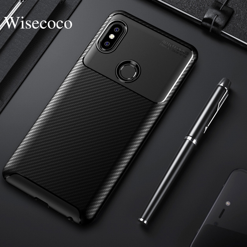 Soft Silicone Case for Xiaomi Mi 9 8 Se Explorer Edition Max 3 Pocophone F1 Redmi 7 6 6a 5 Go Note 7 6 5 Pro Carbon Fiber Cover image