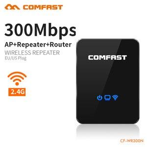 Image 1 - Répéteur de routeur sans fil Comfast répéteur de gamme répéteur Wi fi 300 mbps routeur Portable répéteur de Signal Wifi Booster de Signal Wifi