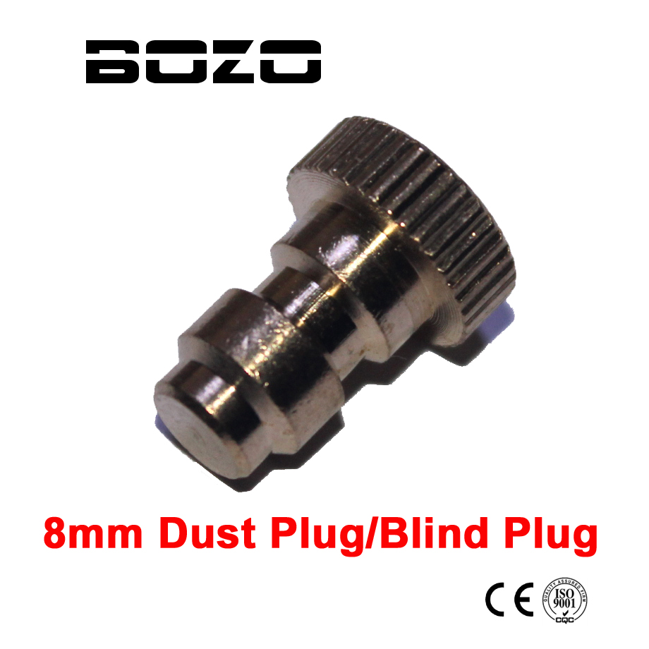 New Paintball Airsoft Pcp Shoting Connection Hex 8MM Quick Connect Male Dust Plug / Blind Plug