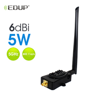 EDUP 5.8Ghz 5W Wireless Wifi Power Booster Amplifiers for Wireless Router EP AB011 6dBi Signal Amplifier 802.11a/n|Wireless Routers|   -