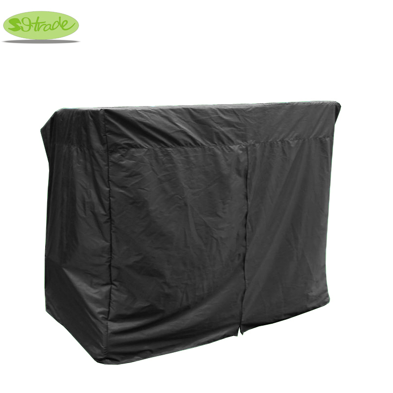 Garden 3 seats wooden swing cover large size cover W235xD120xH180cmwater proofed cover UV protect furniture cover