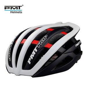 Image 1 - PMT 핫 세일 사이클링 헬멧 초경량 인 몰드 자전거 29 ari vents 헬멧 통기성 도로 산 MTB 자전거 헬멧