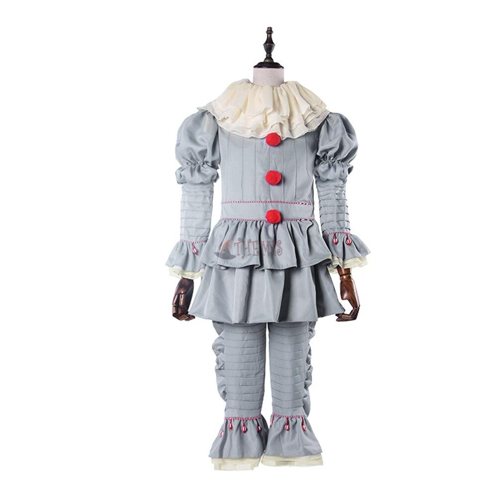 Athemis Anime Stephen King's It Cosplay Costume custom made Dress High Quality