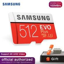 SAMSUNG – carte mémoire Micro SD, 32 go/64 go/128 go/256 go/512 go, SDHC/SDXC, classe 10, classe 10, UHS/TF
